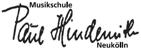 Logo Musikschule Paul Hindemith Neukölln