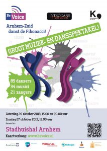 BeVoice 2013 Arnhem-Zuid danst de Fibonacci!